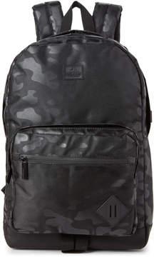 Steve Madden Black Camo Nylon Backpack