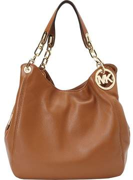 Michael Kors MICHAEL Fulton Large Shoulder Tote Bag - LUGGAGE - STYLE