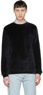 A.P.C. Black Velour Jeremy Sweatshirt