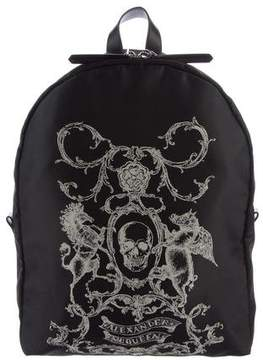 Alexander McQueen Skull Print Backpack
