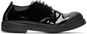 Marsèll Black Patent Zucca Zeppa Derbys