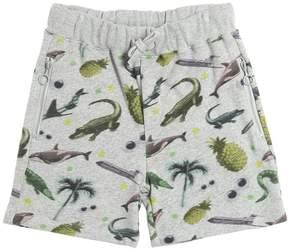 Stella McCartney Animals Organic Cotton Sweat Shorts