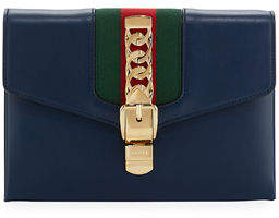 Gucci Sylvie Small Wristlet Clutch Bag - RED - STYLE
