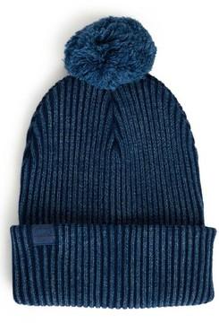 Herschel Men's Sepp Pom Knit Cap - Blue