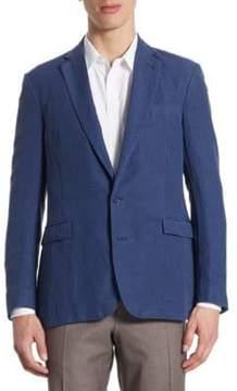 Ralph Lauren Purple Label Regular-Fit Slub Silk & Linen Sportcoat
