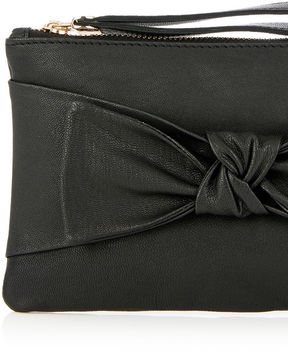 Oasis Leather Bow Purse
