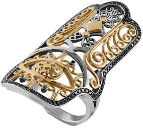 Azza Fahmy Hand of Fatima Ring