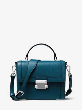 MICHAEL Michael Kors Jayne Small Pebbled Leather Trunk Bag