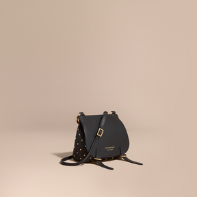 Burberry The Baby Bridle Bag in Riveted Leather