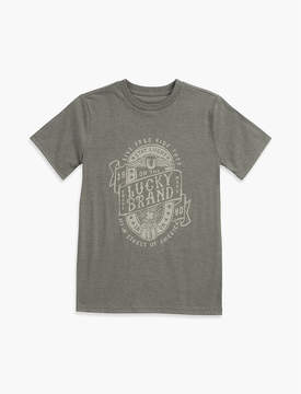 Lucky Brand LUCKY DISCHARGE TEE