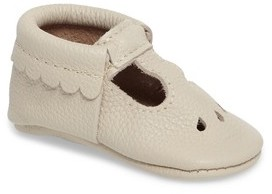 Freshly Picked Infant Girl's Perforated Mary Jane Moccasin