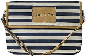 Nautica Shore Things Striped Wristlet Clutch