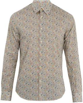 Paul Smith Regent Floral-print single-cuff cotton shirt