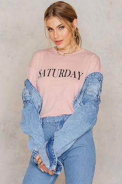 NA-KD Saturday Long Sleeve Top