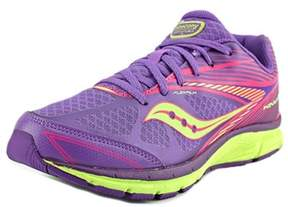 Saucony G Kinvara 4 Youth Round Toe Synthetic Purple Running Shoe.