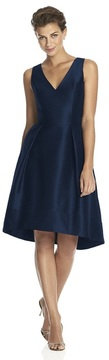 Alfred Sung Bridesmaid Dress in Midnight D586