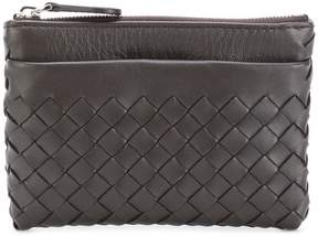 Bottega Veneta woven zip purse