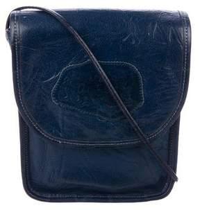 Carlos Falchi Small Leather Crossbody Bag