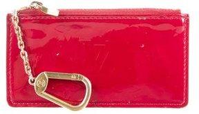 Louis Vuitton Vernis Key Pouch