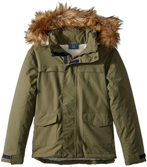 Toobydoo Fleece Lined Parka Jacket Boy's Coat