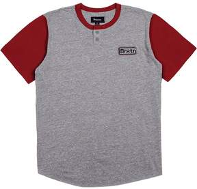 Brixton Springfield Short-Sleeve Henley Shirt