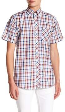 Ben Sherman Check Short Sleeve Regular Fit Shirt