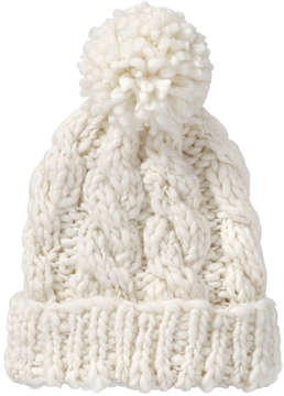 Joe Fresh Women's Cable Knit Hat, Ecru (Size O/S)