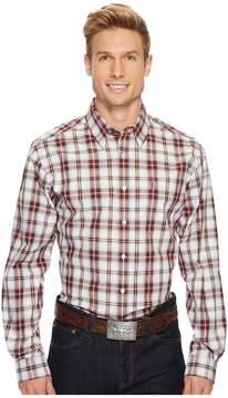 Cinch Modern Fit Basic Plain Weave Men's Long Sleeve Button Up