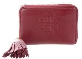 Tory Burch Leather Tassel Wallet