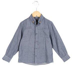 Stella McCartney Boys' Long Sleeve Button-Up Shirt