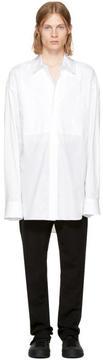 Ann Demeulemeester White Poplin Shirt
