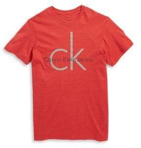 Calvin Klein Jeans Boy's Logo Graphic Tee