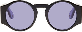 Givenchy Black Round Sunglasses