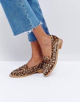 Asos MUNCH Loafer Flat Shoes