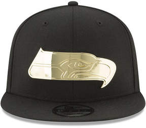 New Era Seattle Seahawks O'Gold 9FIFTY Snapback Cap