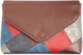 Style & Co Janis Patchwork Convertible Clutch, Created for Macy's