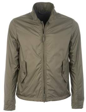 Aspesi Men's Green Polyester Outerwear Jacket.