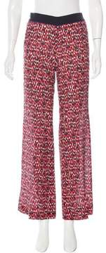 Aquilano Rimondi Aquilano.Rimondi Silk Printed Pants