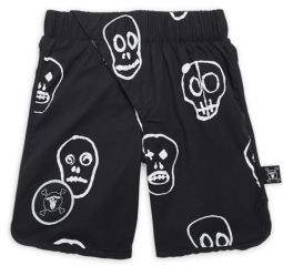 Nununu Toddler's, Little Boy's & Boy's Skull Mask Shorts