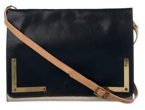 Sophie Hulme Leather Flap Shoulder Bag