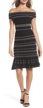 Adelyn Rae Women's Karissa Off The Shoulder Sweater Dress