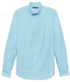 Banana Republic Grant Slim-Fit 100% Cotton Oxford Shirt