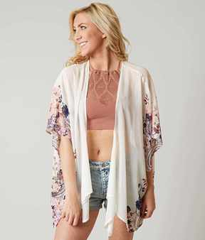 Eyeshadow Printed Cardigan
