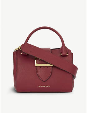 Burberry Buckle small leather tote - PARADE RED - STYLE