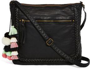 ARIZONA Arizona Top Zip Braid Crossbody Bag