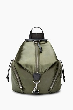 Rebecca Minkoff Julian Satin Nylon Backpack - ONE COLOR - STYLE