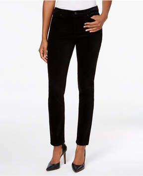 Charter Club Bristol Velveteen Skinny Pants, Only at Macy's