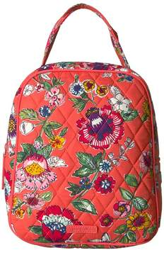 Vera Bradley Lunch Bunch Bags - CORAL FLORAL - STYLE