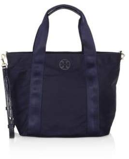 Tory Burch Quinn Small Tote - NAVY - STYLE