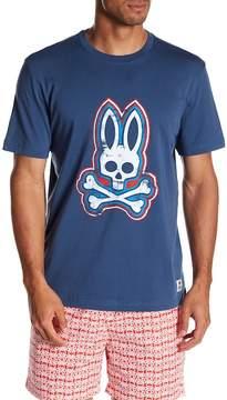 Psycho Bunny Crew Neck Graphic Tee